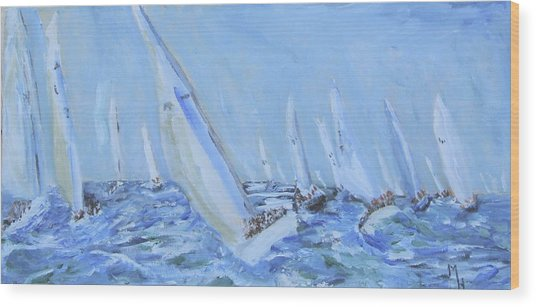 Figawi Frenzy Wood Print