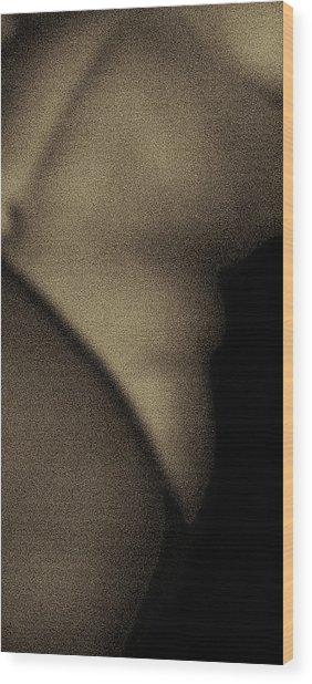Figure Detail Nr 5 Wood Print
