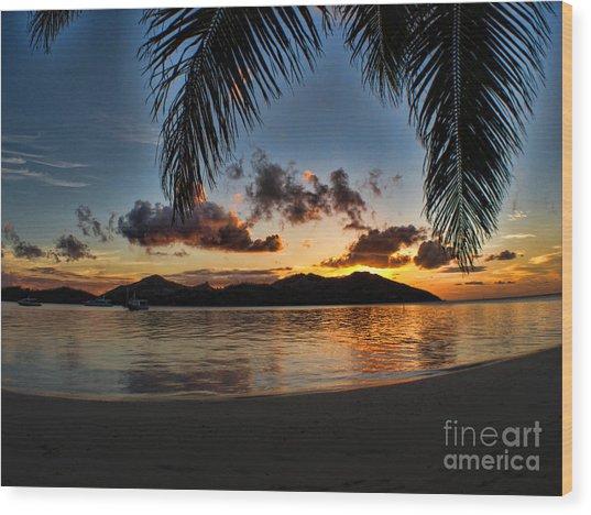 Fiji Island Dreams Wood Print