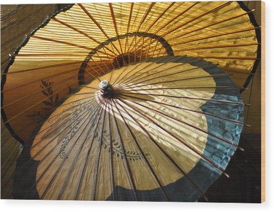 Filtered Light Wood Print