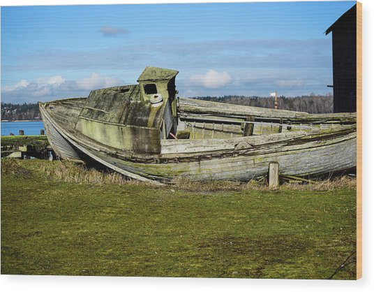 Final Port Wood Print