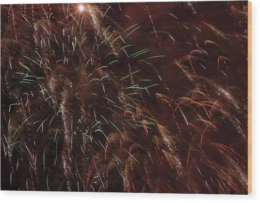 Finale Wood Print by Clay Peters Photography