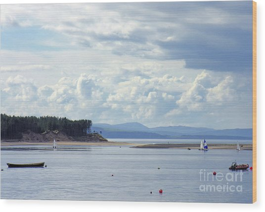 Findhorn Bay - Moray Firth Wood Print