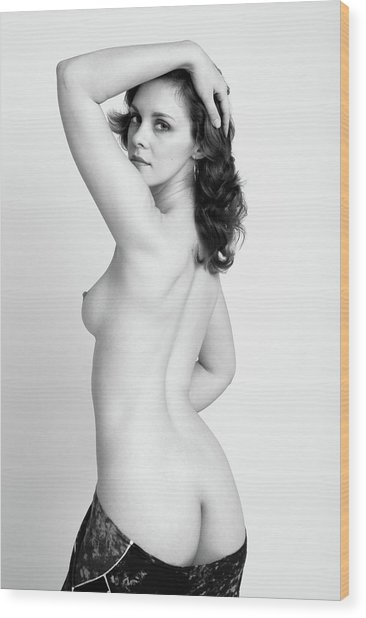 Fine Art Pin-up Wood Print