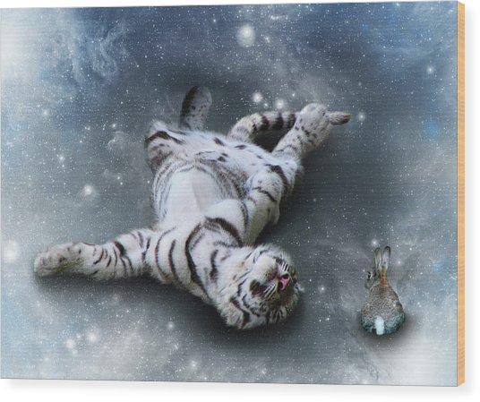 Fiona Floyd And The Freeze Wood Print by Julie L Hoddinott