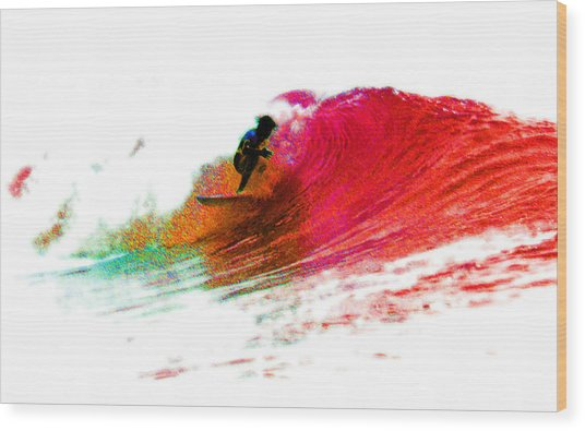 Fire Water Wood Print by David Coyle
