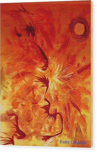 Firebrand Wood Print