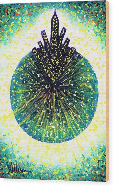 Fireflies  Wood Print