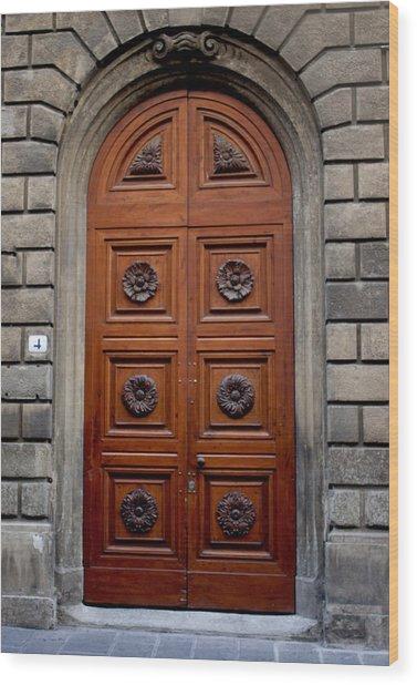 Firenze Door Wood Print