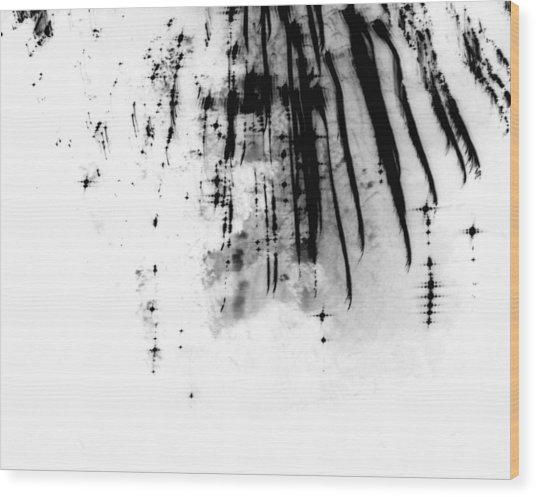 Firework Abstract 6 Wood Print