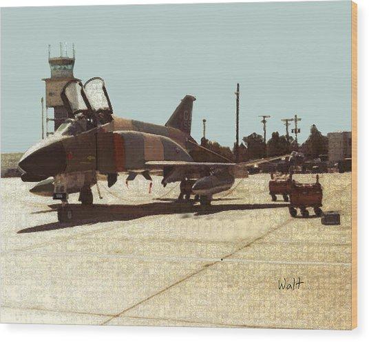 First Jet Wood Print