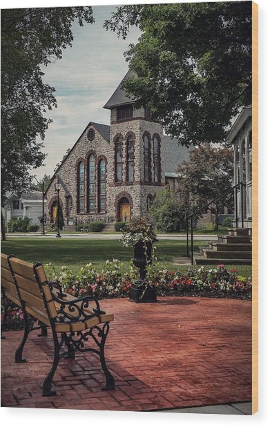 First Presbyterian Church Wood Print
