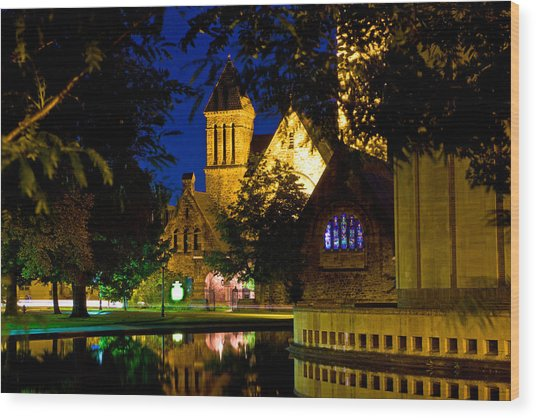 First Presbyterian From Kleinhans Wood Print