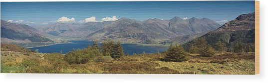 Five Sisters Of Kintail Wood Print by Donald Buchanan