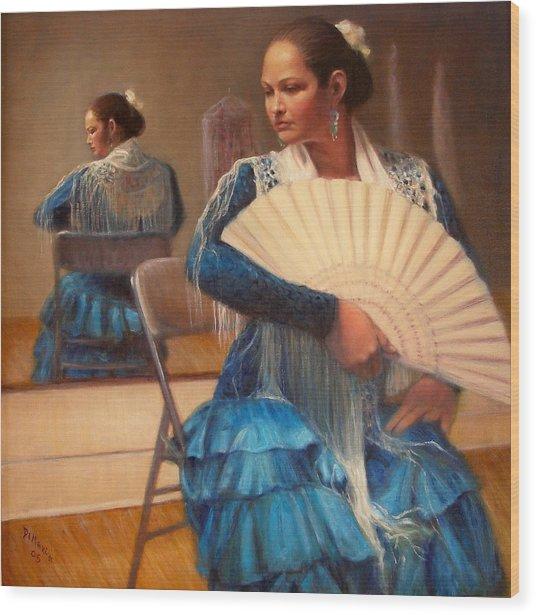 Flamenco 1 Wood Print