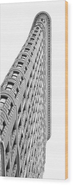 Flat Iron District #9 Wood Print by Marylinda Ramos