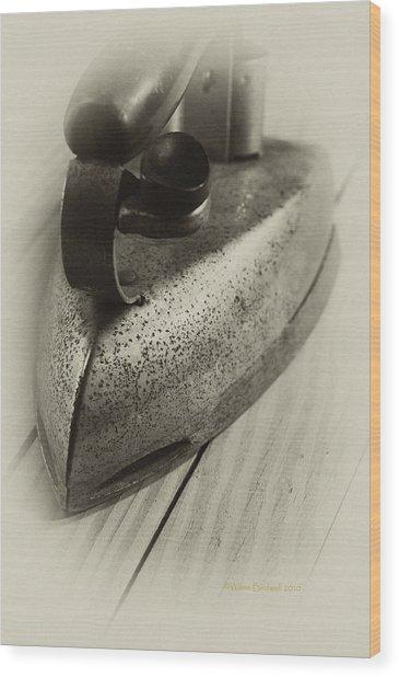 Flatiron Wood Print by Wilma  Birdwell