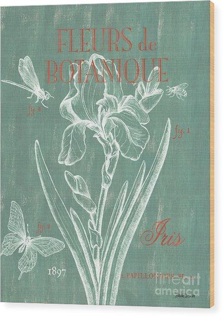 Fleurs De Botanique Wood Print