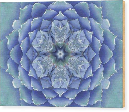 Flora Muse Mandala Wood Print