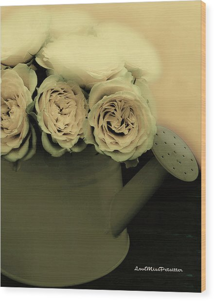Floral Art 38 Wood Print