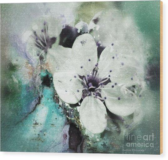 Floral Haze Wood Print
