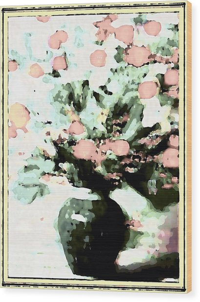 Floral Images Wood Print by HollyWood Creation By linda zanini