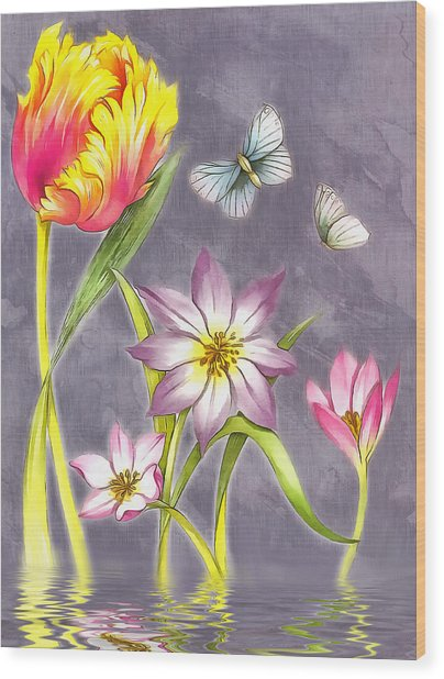 Floral Supreme Wood Print