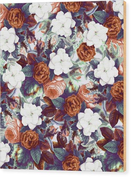 Floral Wonder Wood Print