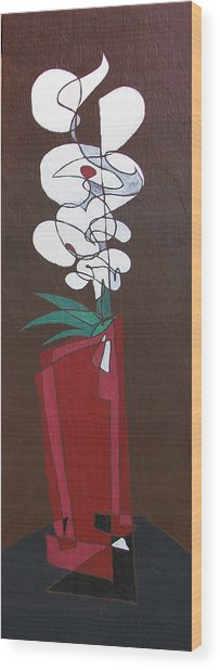 Floral Xxii Wood Print