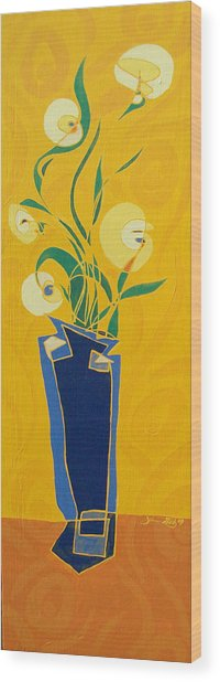 Floral Xxiv Wood Print
