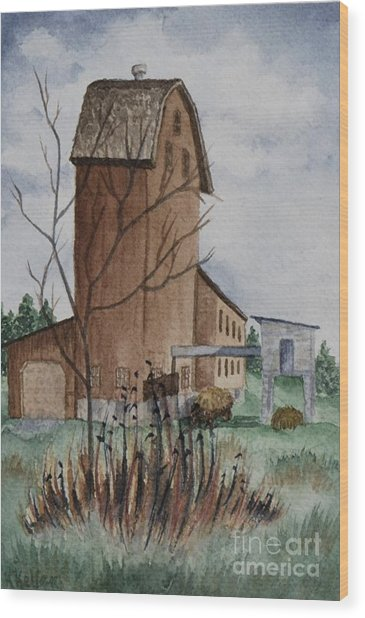 Florence Mill 1 Wood Print by Kathleen Keller