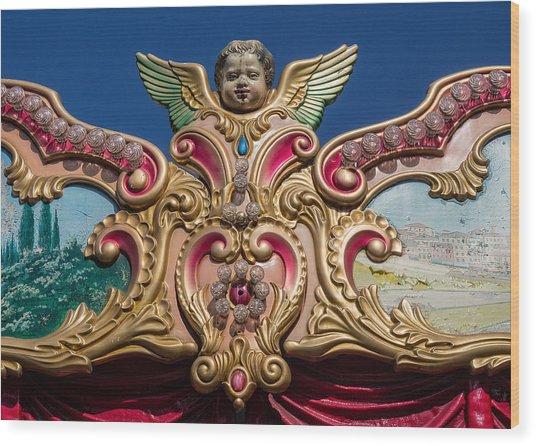 Florentine Carousel Wood Print