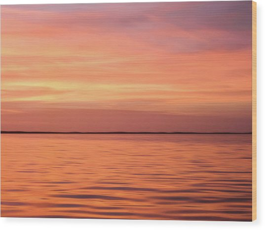 Florida Keys Sunset Impressions Wood Print