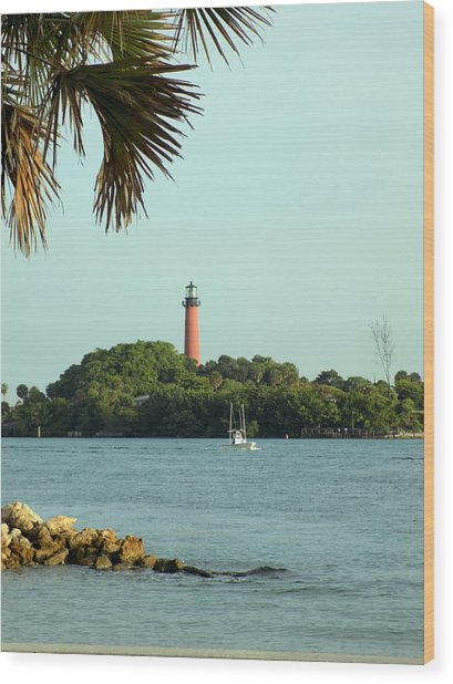 Florida Lighthouse 3 Wood Print