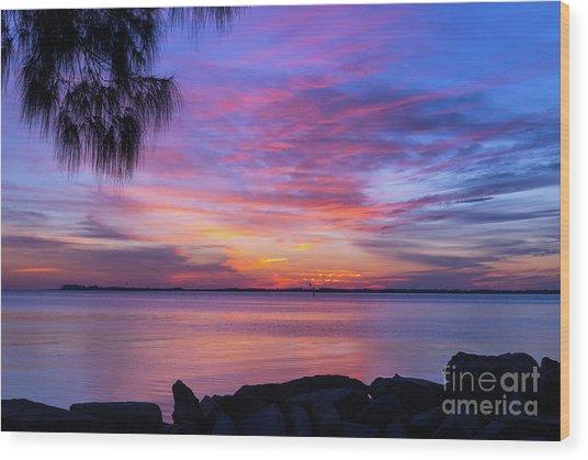 Florida Sunset #2 Wood Print