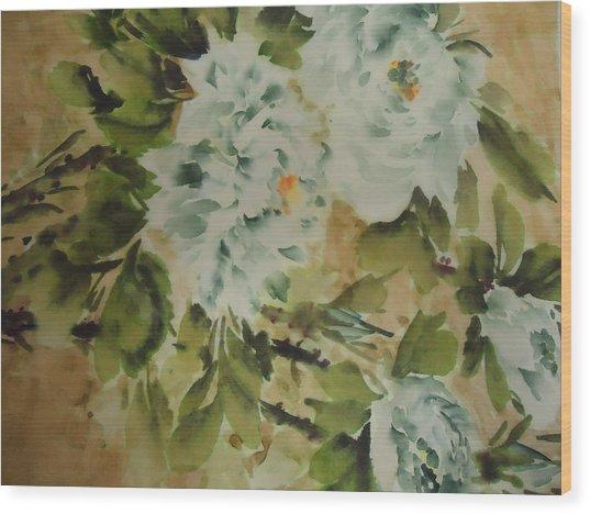 Flower -727-2 Wood Print