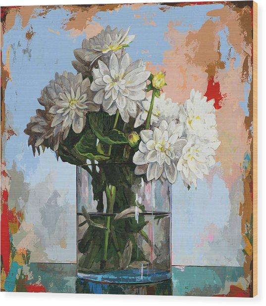 Flowers #11 Wood Print