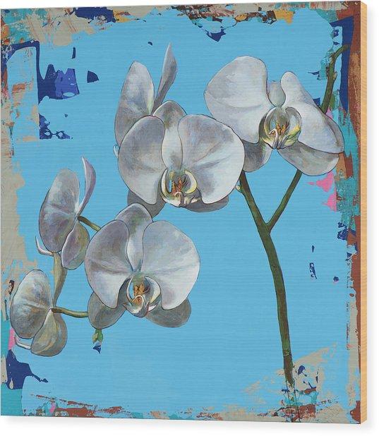 Flowers #15 Wood Print by David Palmer