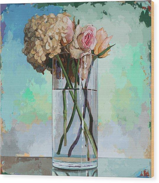 Flowers #18 Wood Print