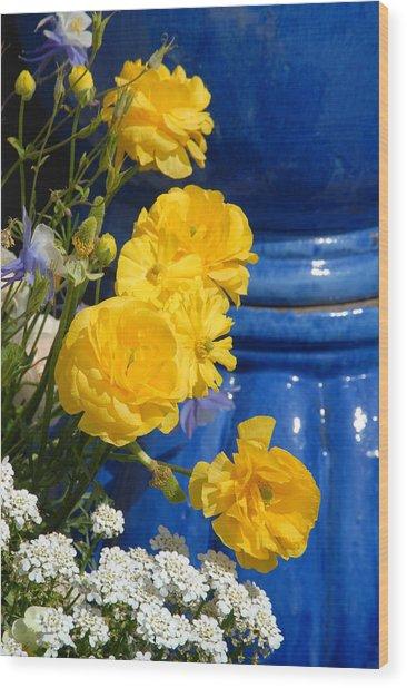Flowers 187 Wood Print by Joyce StJames