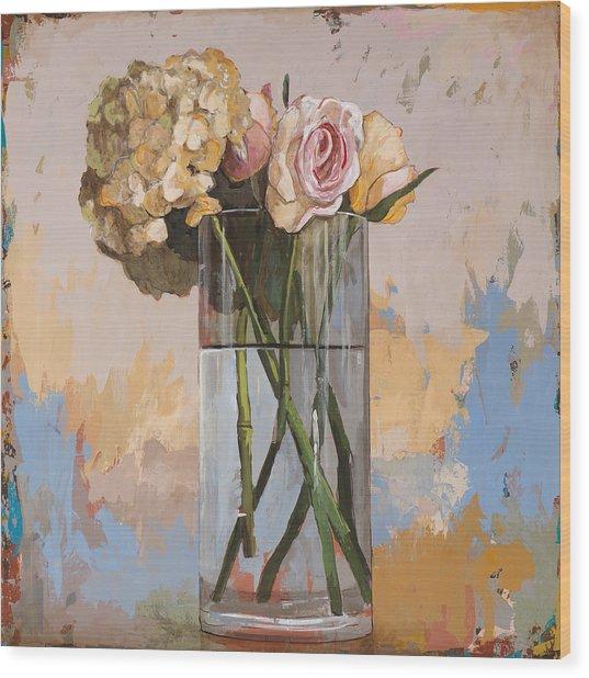 Flowers #2 Wood Print
