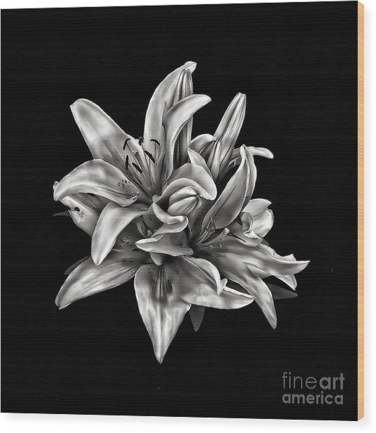 Flowers 8449 Wood Print