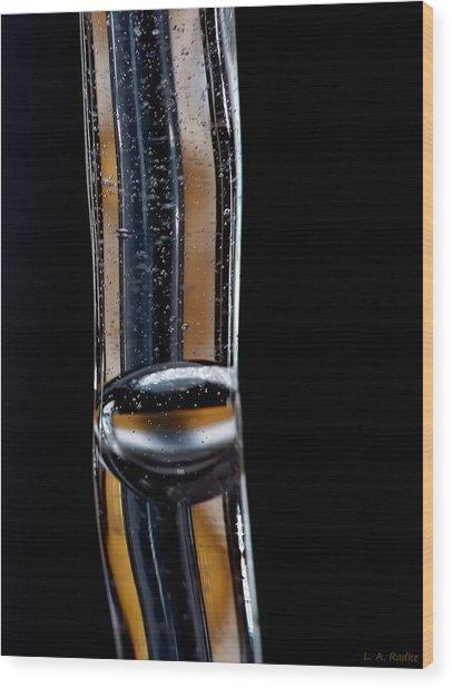 Fluidity Iv Wood Print