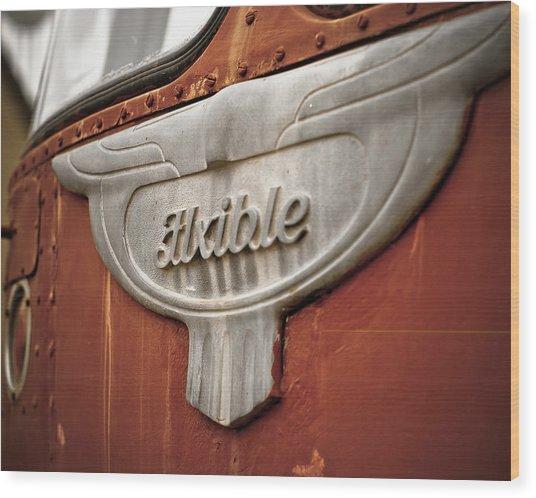 Flxible Clipper 1948 Wood Print