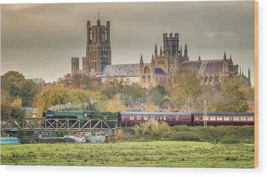Flying Scotsman At Ely Wood Print