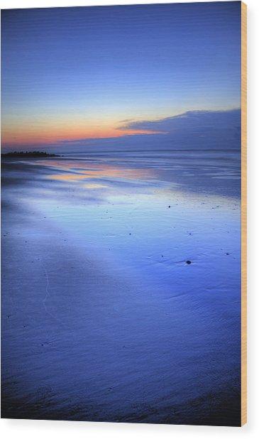 Folly Beach Dawn II Wood Print