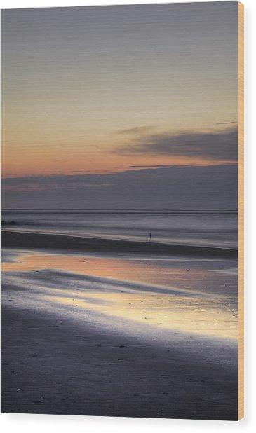 Folly Beach Morning  Wood Print