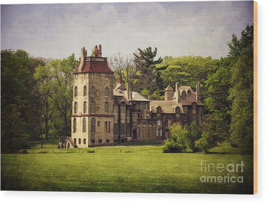 Fonthill By Day Wood Print