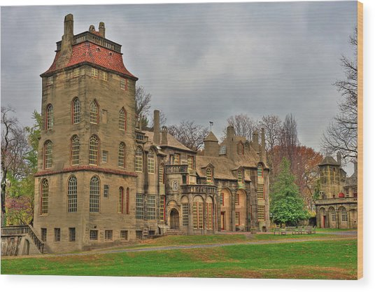 Fonthill Castle Wood Print