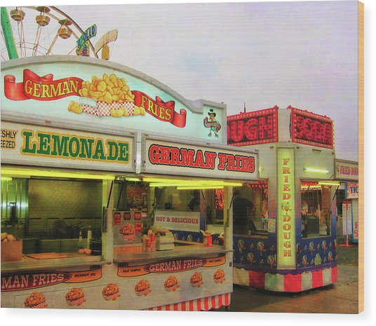 Food And Fun Wood Print by JAMART Photography